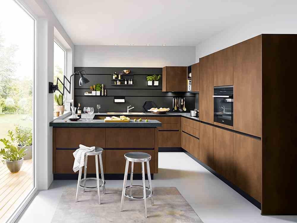 Design Küche ohne Griffe