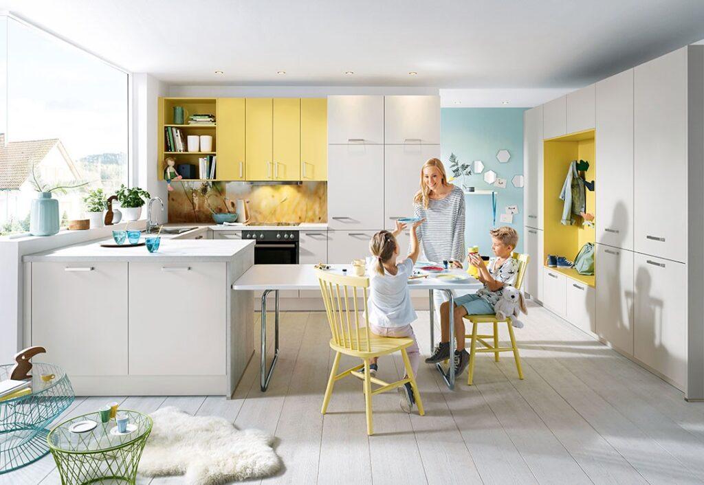 Küche als Mittelpunkt für Ihr zuhause