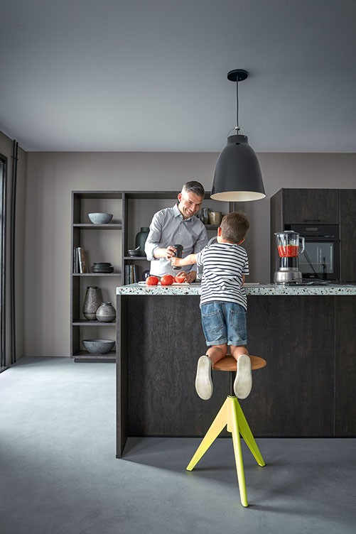 Küche für Familien