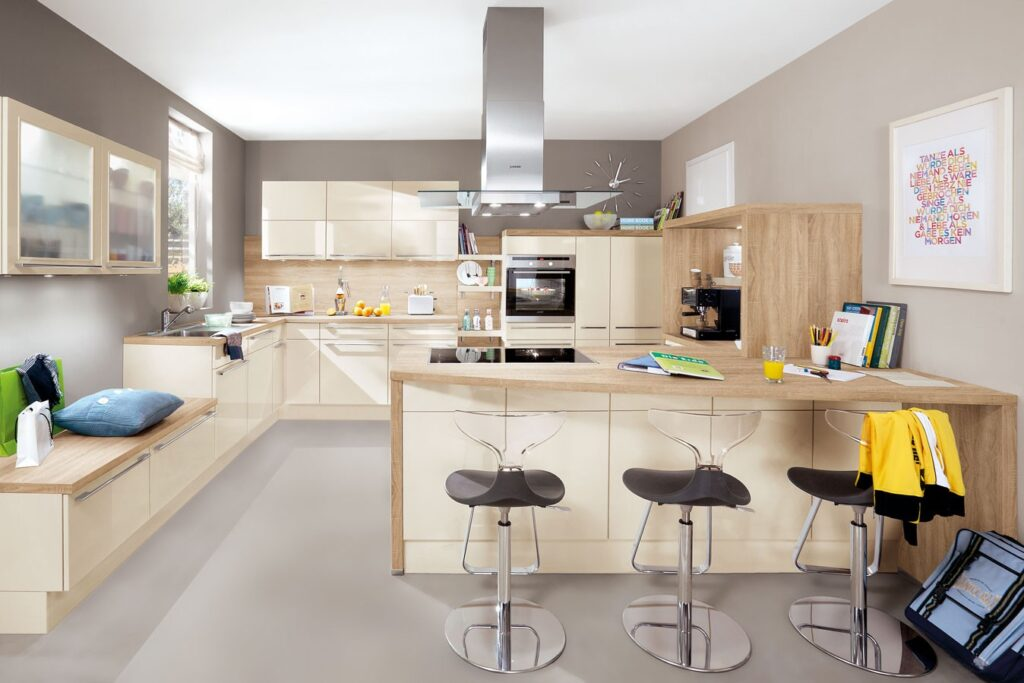 Klassik Küche mit viel Platz