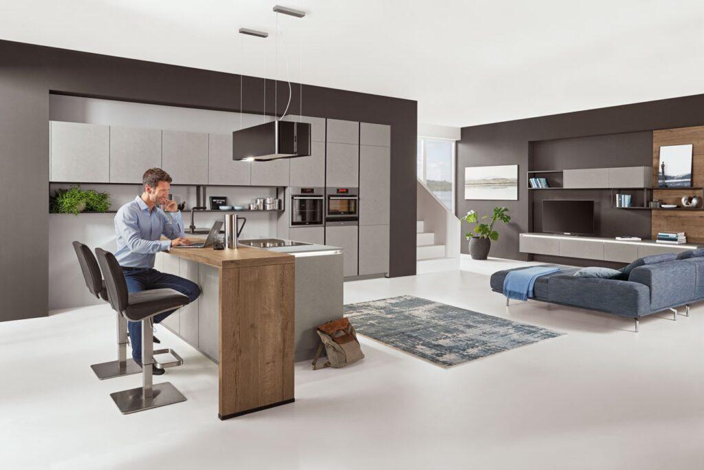 grifflose Küche design